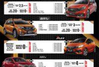 brosur honda mobil pekanbaru